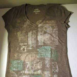 Juniors Mudd Graphic Tee